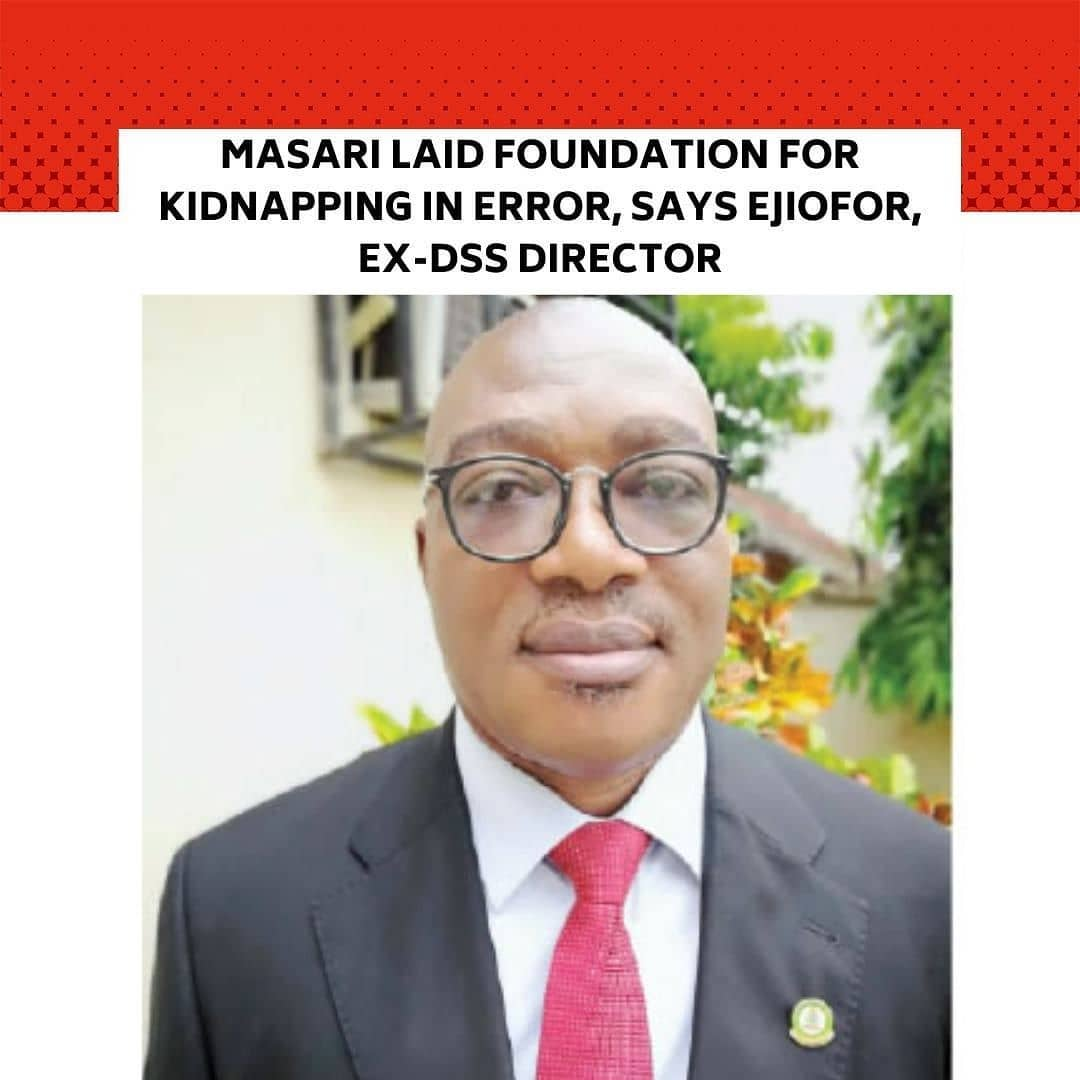"""A former Director of the Department of State Services, Mike Ejiofor, has knocked the Katsina State Governor, Aminu Masari, and his Zamfara State counterpart, Bello Matawalle, for laying the foundation for kidnapping in error by negotiating with bandits. . """"The state governments –both Zamfara and Katsina States –mistakenly laid the foundation for what is going on now; they started negotiation with the bandits who were not even ready to give up on their activities and this is what we are witnessing now. . """"Even this Kankara incident, the governor came out to say they are negotiating, that is unacceptable. And you give these people the boldness and courage to continue to perpetrate this act,"""" Ejiofor said on Friday morning. . Masari had on Thursday night confirmed the release of 344 abducted schoolboys from Government Science Secondary School, Kankara. Masari on Friday morning later received the schoolboys who were transported from Zamfara State. . The governor, who had earlier said he was in talks with the abductors, however, insisted that no ransom was paid before the boys were released. . But Ejiofor said the best practice all over the world is not to negotiate with bandits but to strengthen the security apparatus and crush the criminals. . """"I am not a pessimist but these things will continue to happen unless we strengthen the security of these states and take decisive actions. The Federal Government should take decisive actions against these bandits operating in the North-West. These well-organised bandits are looking for money. Anytime they do such kidnap, they are paid, and they use such money to buy more arms,"""" the former DSS director stated while featuring on Channels Television's Sunrise Daily programme monitored by The PUNCH. . """"This definitely is not the work of Boko Haram but the work of bandits in the two states. -"""