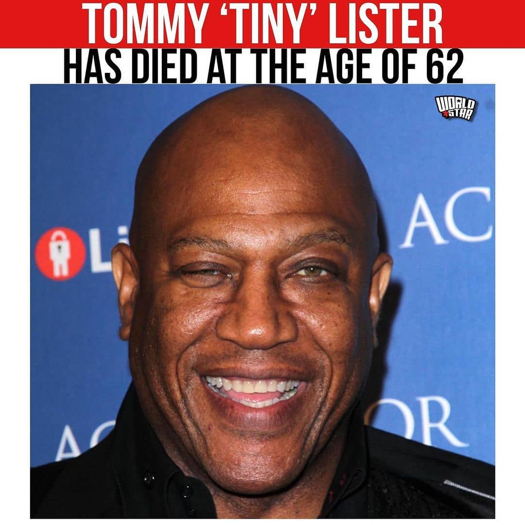 According to reports, Tommy 'Tiny' Lister has died at the age of 62. No reports have been issued on cause of death. Our thoughts and prayers are with his family and friends.