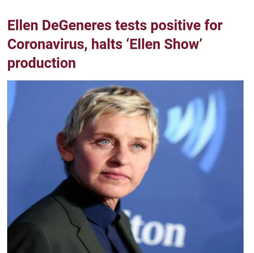 """American talk show host, Ellen DeGeneres on Thursday December 10 announced that she has tested positive for COVID-19.   The popular talk show host shared the news from her verified Twitter account. The tweet read;   """"I want to let you all know that I tested positive for COVID-19. Fortunately, I'm feeling fine right now.    """"Anyone who has been in close contact with me has been notified, and I am following all proper CDC guidelines. I'll see you all again after the holidays. Please stay healthy and safe.""""  The shutdown comes as """"Ellen"""" ratings were on a roll thanks to the show's annual """"12 Days of Giveaways"""" series. The show hit its highest rating since May during the week ending November 29.  Season 18 of """"The Ellen DeGeneres Show"""" premiered on September 21 after months of controversy involving an internal investigation after allegations of racism, sexual misconduct and other workplace problems.   After claims from former employees that cited sexual misconduct and harassment, racist comments made by senior producers and staffers getting fired for taking time off to attend family funerals, among other alleged actions, the show fired executive producers Ed Glavin, Kevin Leman and Jonathan Norman, all of whom were named."""
