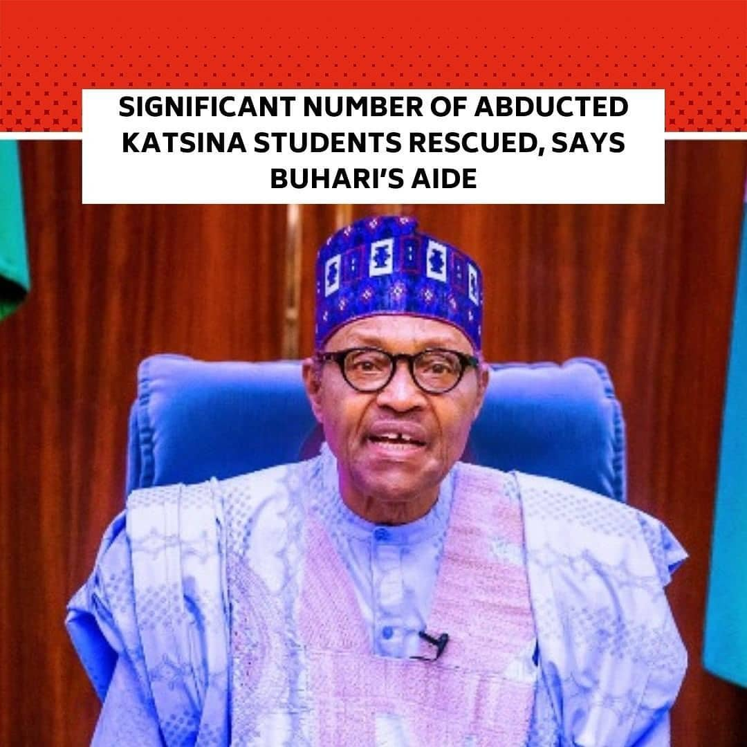"Bashir Ahmad, Personal Assistant on New Media to the President, Maj-Gen Muhammadu Buhari (retd.), has said a 'significant' number of the abducted students of Government Science School, Kankara, in Katsina State, have been rescued. . Ahmad, who made this known on Twitter last night, however, did not give a specific figure of the freed students. . ""A significant number of the students have been rescued. Praying for the immediate safe return of the rest,"" @BashirAhmaad wrote. . The President's aide also said the Katsina State Government would issue a formal statement on the development. ""I am sure the Katsina State Government will issue a statement in that regard,"" he stated. . However, as of the time of filing this report at 09:30am on Monday, the state government was yet to issue any statement. . The PUNCH had earlier reported that the state governor, Aminu Masari, told a Federal Government delegation on a sympathy visit on Sunday that at least 333 schoolboys are still missing.  ""The school has a population of 839 and so far, we are yet to account for 333 students. We are still counting because more are still coming out of the forest,"" the governor said. . ""Up till this moment, no one can give a precise figure of the children abducted,"" he stated, adding that students who escaped confirmed some of their peers were taken. . Bandits had stormed the school on Friday night and abducted the students after a gun duel with the police. The President, Major General Muhammadu Buhari (retd.), had arrived in the state on Friday, hours before the abduction took place. . Buhari condemned the abduction of the schoolboys in a statement by the Presidency on Saturday but many Nigerians expect more including a presidential visit to the school. . Global rights group, Amnesty International, has also condemned the abduction of the schoolboys while calling on the Buhari regime to ensure their speedy release."