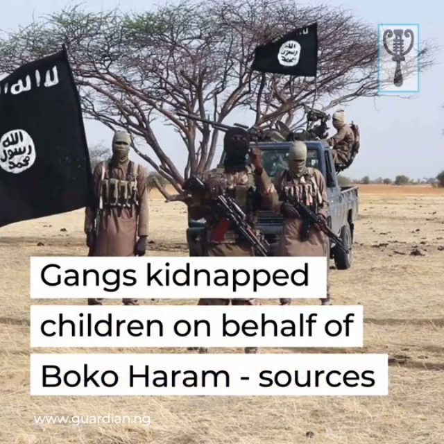 """Boko Haram recruited three local gangs in northwest Nigeria to kidnap hundreds of schoolboys on its behalf, security and local sources said Wednesday.  The jihadist group has claimed responsibility for Friday's attack, which targeted a secondary school in the town of Kankara, in Katsina state.  But sources told AFP the operation was carried out on Boko Haram's orders by a notorious local gangster called Awwalun Daudawa.  The 43-year-old worked in collaboration with Idi Minorti and Dankarami, two other crime chiefs with strong local followings, they said.  Criminal gangs, known as bandits, have terrorised communities in northwest Nigeria for years, and experts had recently warned of attempts by jihadists to forge an alliance with them.  Daudawa """"was an armed robber and a cattle rustler before he turned to gun-running, bringing in weapons from Libya, where he had received training, and selling them to bandits,"""" said a security source. """