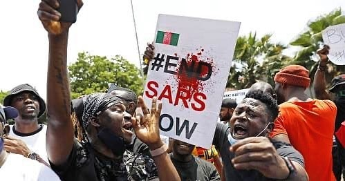 #EndSARS: Court Grants Bail To Osun Protester, Seizes His Passport, Forbids Interviews _ Magistrates' Court in Osogbo, Osun State on Wednesday granted bail to a leader of movement in the state, Emmanuel Adebisi, who was arrested by the Department of State Services (DSS). __ One of the sureties, according to the Omisade, must be a state civil servant of Grade level 12, while the other must own a house in the state.