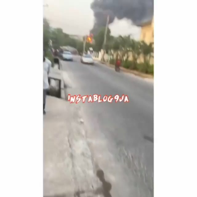 Just In: Fuel tanker explodes at Otedola Bridge, Lagos State