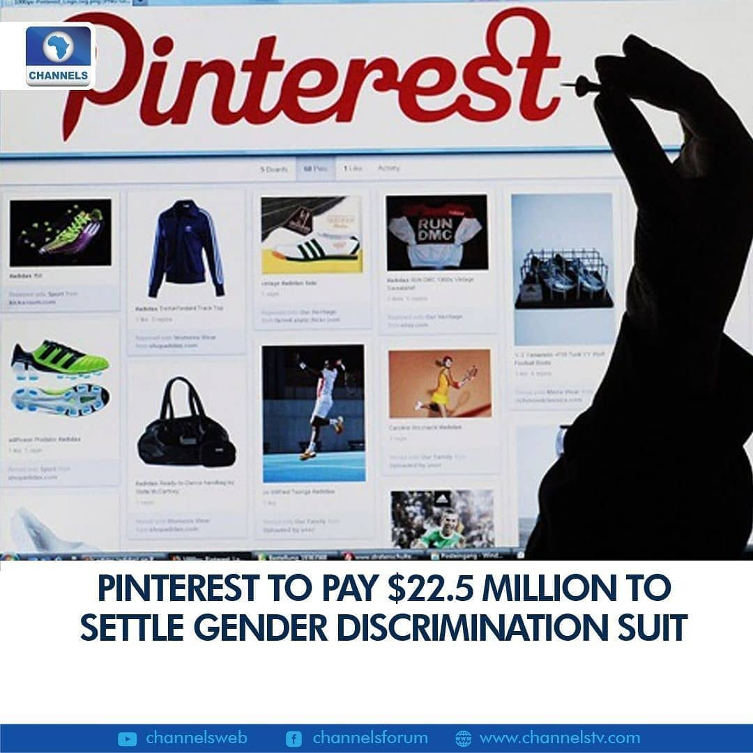 """Popular online bulletin board Pinterest will pay former chief operating officer Francoise Brougher $20 million in a deal reached to settle a gender discrimination suit, a regulatory filing showed Monday.  The settlement includes Pinterest investing another $2.5 million to increase the presence of women and other under-represented groups in the tech industry, according to a joint statement.  """"Pinterest recognizes the importance of fostering a workplace environment that is diverse, equitable and inclusive and will continue its actions to improve its culture,"""" read a joint statement by Brougher and Pinterest.  Brougher filed a lawsuit earlier this year, accusing San Francisco-based Pinterest of paying her less than male colleagues, leaving her out of decision making, and subjecting her to a hostile work environment, then firing her after she spoke out against the treatment, according to media reports.  """"Although 70 percent of Pinterest's users are women, the company is steered by men with little input from female executives,"""" Brougher said in a post on Medium when the suit was filed in August."""