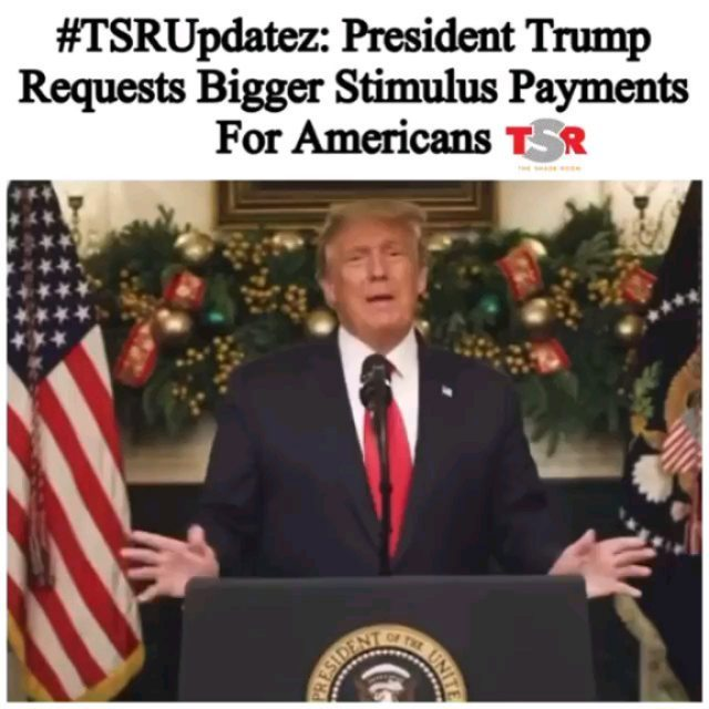 PressPlay: President Trump is speaking out about the new proposed and highly anticipated stimulus checks.