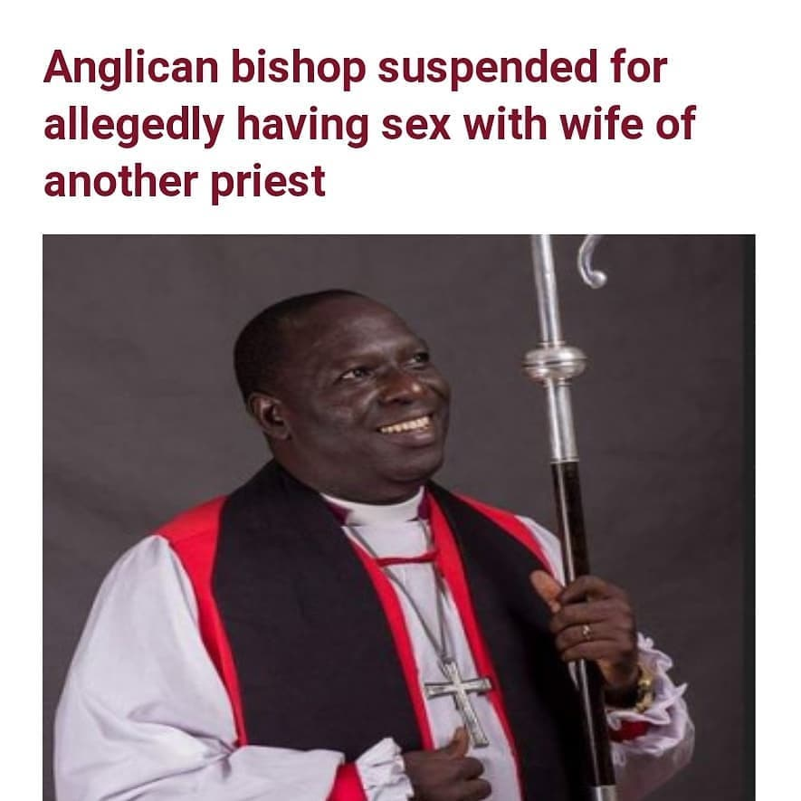 """Rufus Adepoju, theDiocesan Bishop of theChurch of Nigeria(Anglican Communion) of Ekiti West has been suspended over an alleged sexual misconduct.  Announcement of his suspension was conveyed in a letter datedDecember 11, 2020 and signed bythe Primate of the Church of Nigeria, Most Rev Henry Ndukuba.  It was learnt that Adepoju who was allegedly caught with the wife of a priest under his employment and care, has admitted wrongdoing. With his suspension, theBishop would not partake in any church activity for a year.  The letter read;   """"Advent greetings in the precious name of our LORD and Saviour Jesus Christ. We write with a deep sense of concern and pain to suspend you from office as the Diocesan Bishop of the Anglican Diocese of Ekiti West. """"This is sequel to your conduct giving just cause for scandal and abhorrent sexual behaviour with the wife of a priest under your employment and care. These facts were admitted by you in a meeting in our office held on Thursday December 10, 2020. """"By this suspension, you are not to partake in any activity of the Diocese as the Diocesan Bishop for a period of one (1) year effective from the date of this letter. Please report and handover to your Archbishop and for further spiritual guidance. """"It is our prayer that you will use the period to seek the face of God as we join in upholding you in prayers. The supervision of the Diocese of Ekiti is hereby devolved upon us the Primate of All Nigeria. The LORD be with you."""""""
