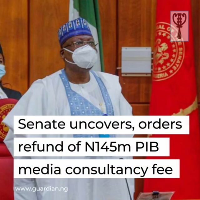 "Senate Committee on Public Accounts has unravelled how a management staff in the Ministry of Petroleum Resources allegedly paid himself N145 million as media campaign fund to garner support for the Petroleum Industrial Bill (PIB).⁣ ⁣ The allegation was contained in the 2015 report of the Auditor General of the Federation (AuGoF) submitted to the panel, chaired by Senator Mathew Urhoghide.⁣ ⁣ The query read: ""The total sum of N145 million was approved by the Ministerial Tender Board (MTB) and paid to management staff for electronic billboard advertisement, television jingles and newspapers publication for the campaign awareness of the Petroleum Industry Bill (PIB).⁣ ⁣ ""However, instead of the contract being awarded to competent and technically experienced companies through open competitive bidding in order to ensure transparency and accountability, he clandestinely held onto the contract for himself.⁣ ⁣ ""Invoices and receipts of payment from the purported companies and agencies, whose services were engaged in the execution of the programme, were not tendered for audit.""⁣ ⁣ Once the communication was made bare, Senator Urhoghide asked a representative of the Permanent Secretary in the ministry, Godwin Akubo, to respond to the allegation.⁣ ⁣"