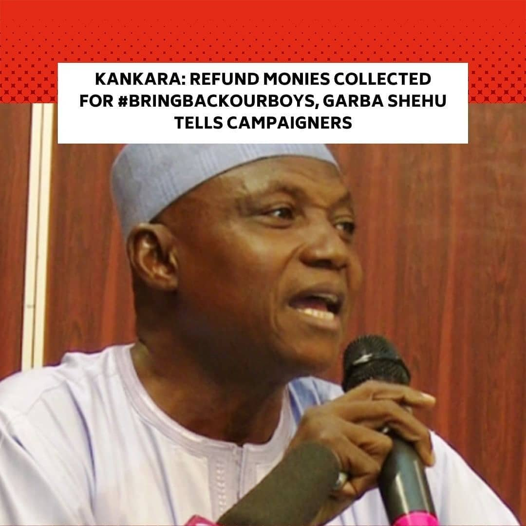 "Senior Special Assistant to the President on Media and Publicity, Garba Shehu, has urged the campaigners to refund monies collected for the movement. . He lamented that it was shameful that ""merchants of fortune"" profiteered from the abduction of over 300 schoolboys from Government Science Secondary School, Kankara, Katsina State. . Shehu said the creators of hashtags like the lacked patriotism. Several hashtags including the had surfaced online after the December 11 abduction of the Kankara schoolboys. . Gunmen on motorcycles had attacked the school and abducted the students a few hours after the President, Major General Muhammadu Buhari (retd.), arrived in the state for a week-long private visit. . Katsina State Governor, Aminu Masari, however, announced the release of the 344 schoolboys six days after their abduction by bandits. . While some Nigerians, particularly the parents of the abducted students, delight in the news of the schoolboys' release, the President has been knocked in certain quarters by persons who felt he created the problem and should not relish in the students' release. . But Shehu, in a piece on Sunday titled, 'Five Takeaways From The Safe Return Of 344 Kankara Schoolboys', said the release of the students would be celebrated in any decent part of the world where empathy overrides cheap politics. . According to the presidential aide, by the release of the Kankara schoolboys, the Buhari regime demonstrated ""unquestionable capacity to protect Nigerians"" and those who doubt the regime's resolve are ""mischievous"". . Shehu slammed the ""mischievous"" elements who he claimed anticipated a prolonged stay of the students in captivity. --"