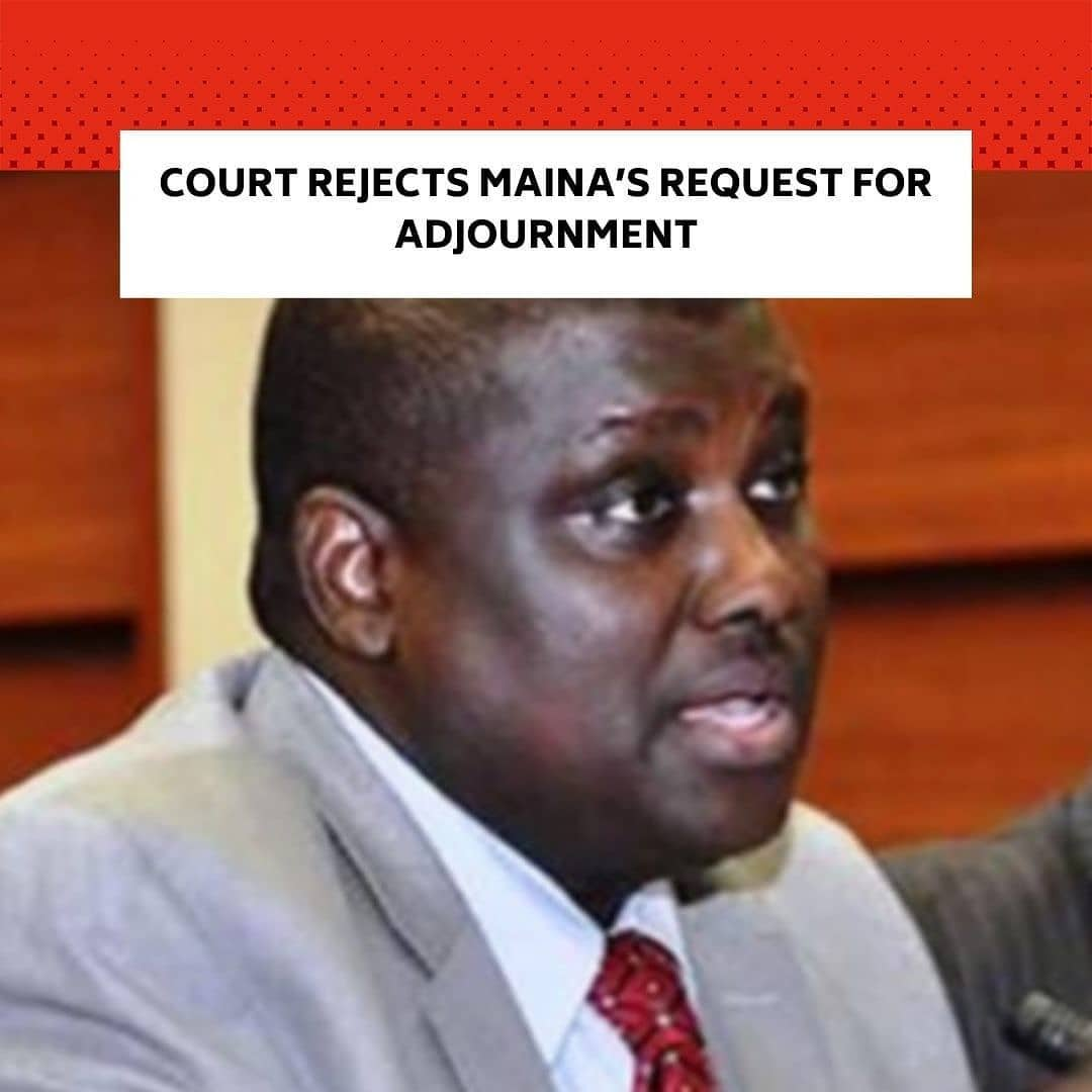 The Federal High Court in Abuja, on Tuesday, rejected the request by a former Chairman of the defunct Pension Reformed Task Team, Abdulrasheed Maina, for an adjournment to prepare for his defence. . Justice Okon Abang ruled that the request was a ploy to waste the judicial time of the court. . The judge had earlier on December 4, 2020, adjourned the N2bn money laundering case till Tuesday based on a request by Maina's new lawyer, Mr Adaji Abel, who pleaded that he needed more time to enable him to prepare for the case. . The judge, before adjourning the matter on December 4 proceedings till Tuesday, ordered Maina to be remanded in the correctional centre. . The judge made the remand order after the defendant, who was said to have jumped bail and fled to Niger Republic, was extradited to Nigeria and returned to the court that day. . At the Tuesday sitting, the Economic and Financial Crimes Commission's prosecuting counsel, Mr Farouk Abdullah, was about to invite the ninth prosecuting counsel, Rouqquaya Ibrahim, to continue her testimony when the defence lawyer raised an objection. . He said the defence had applied for the court's record of previous proceedings via a letter sent to the court's registry but had yet to be given by the court registry. . He said the records were needed by the defence to continue with the case. . The prosecuting counsel, Abdullah, opposed the application for adjournment, saying Maina had been given the opportunity to defend himself but failed to utilise it. . Ruling, Justice Abang noted that Maina had not been appearing in court since the matter resumed on September 29, until when he was returned to court on December 4 after he was arrested based on the arrest warrant issued by the court.