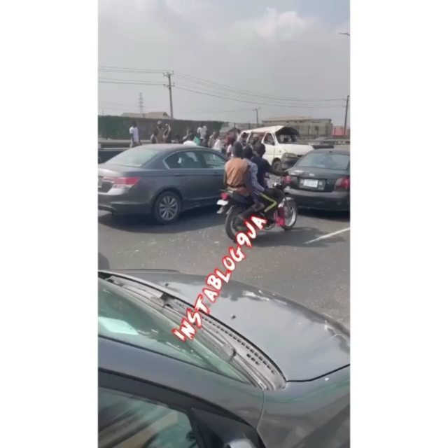 Xmas Day Tragedy: One dead, several others injured as car somersaults on 3rd Mainland bridge, Lagos