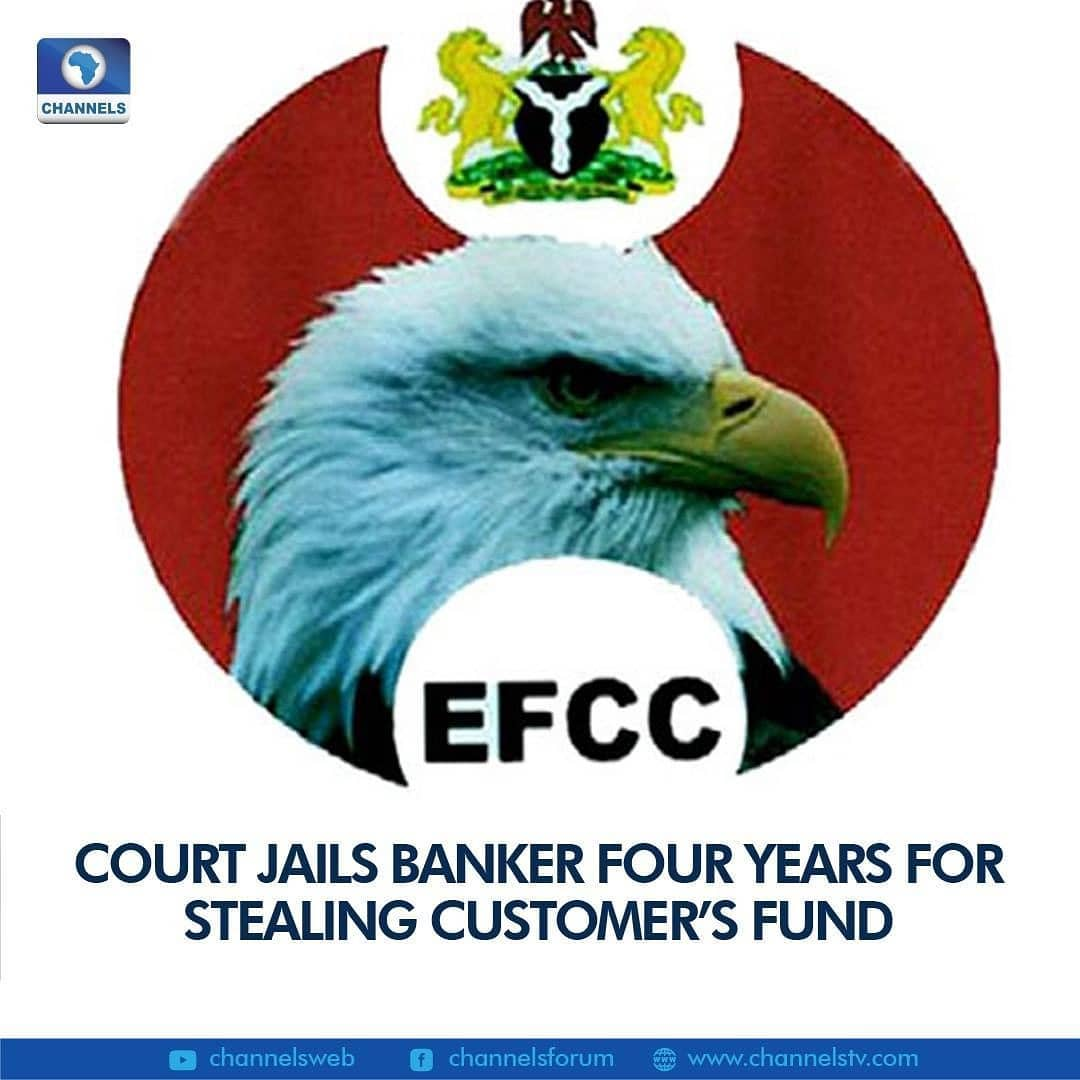 Justice Jane Inyang of the Federal High Court sitting in Yenagoa, Bayelsa State, has convicted and sentenced Felix David Diete to four years imprisonment, for stealing the sum of N 2, 000, 000, 00( Two Million Naira only).  He was jailed on Monday, January 11, 2021, after four years of diligent prosecution by the Port Harcourt zonal office of The Economic and Financial Crimes Commission, EFCC.  The convict was arraigned in January 2017 on three-count charges bordering on stealing, contrary to Section 383 and punishable under 390 (6) (b) (8) and 9 of Criminal code CAP C- 38 of the revised edition (Laws of the Federation of Nigeria) 2007 read along with Section 1(1)(d) of the Failed Bank(Recovery of Debts) and Financial Malpractices in Bank Act CAP B3 of the revised edition (Laws of the Federal Republic of Nigeria) 2007.