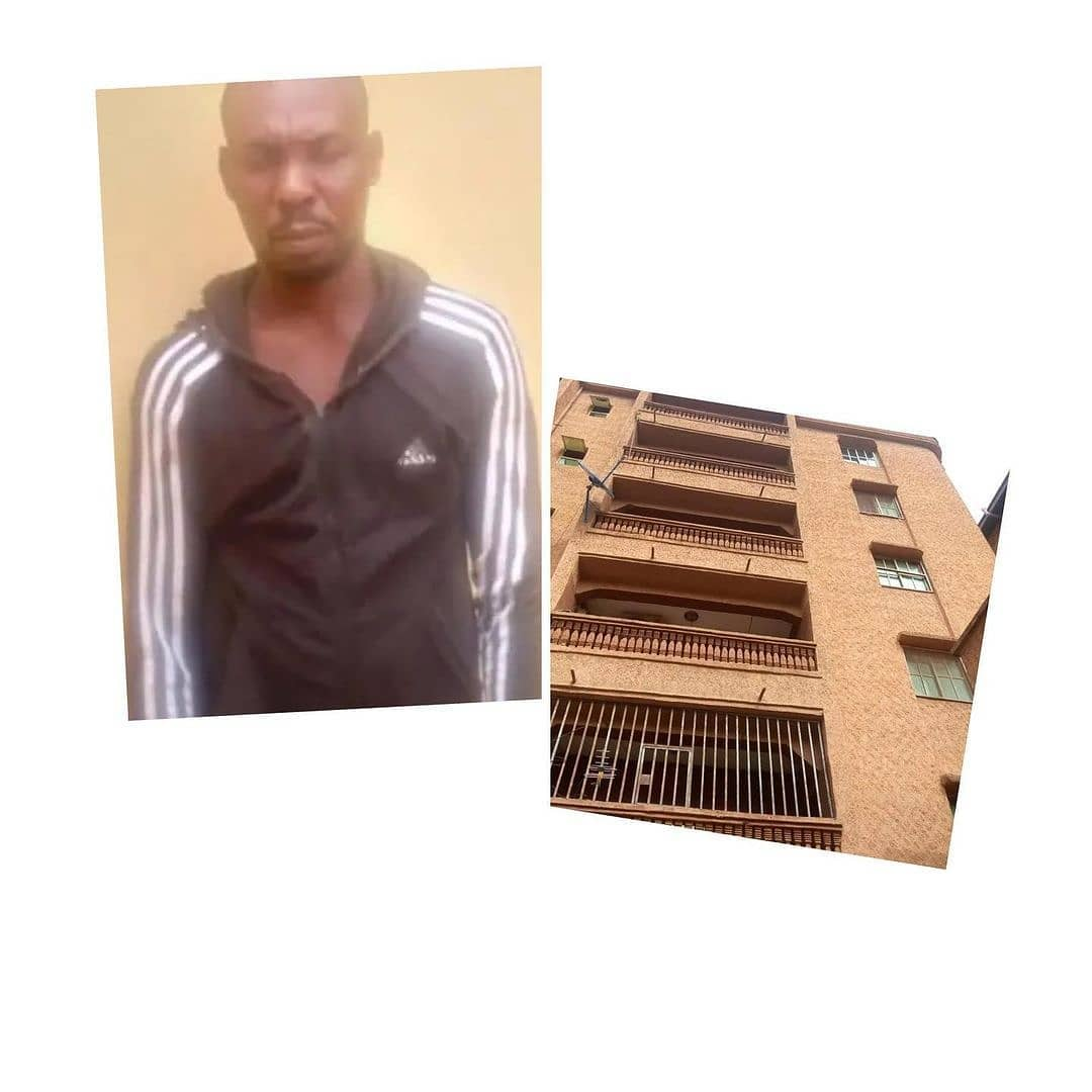 """Man arrested for allegedly throwing his girlfriend from the 5th-floor of a building in Anambra . . A 37-year-old man, Nonso Eze, has been arrested by men of the Anambra state police command for allegedly pushing his 23-year-old girlfriend from a five-storey building in Awada, Onitsha on Saturday, January 23, 2021. . . A statement released by the spokesperson of the command, Haruna Mohammed, states that at about 6:30 in the morning , men of the Awada police Station received a report that at about 3am, the victim fell from the 5th floor of the five storey building located at N0.6 Orakwe close, fizzle Awada Obosi in Idemili North LGA of Anambra State. . . He said police operatives visited the scene, photographed the victim and rushed her to a hospital for medical attention but was certified dead on arrival by a medical doctor. . . """"Suspect was subsequently arrested and search executed in his appartment where a pair of female slippers and unused condom was recovered as exhibits'' Haruna's statement read . . The police spokesperson added that the corpse was deposited at the hospital mortuary for autopsy while investigation is ongoing to ascertain circumstances surrounding the incident after which suspect will be brought to book. [Swipe for GRAPHIC content]"""