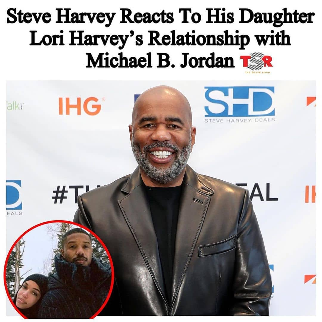 "While most of us are loving the relationship between Nugget and Turtle AKA and #MichaelBJordan, not everyone is as easily impressed. Yesterday on the ""Steve Harvey Morning Show,"" Steve opened up about how he feels about Michael dating his daughter.  _____________________________________________________________ Steve said,""I like this one. I still got my eye on him. I mean, I like him, but like I say to all of 'em, 'I might like you, I might approve of you, but I got a thumb-size section of my heart filled with nothing but pure hatred for your a**. Just in case I need it."" _____________________________________________________________ Steve continued saying, ""Like right now. Nice guy, but I got this little section partner, where all I gotta do is click a switch, and I can hate your a**."" #Roomies, y'all think he is being too hard on Michael?"