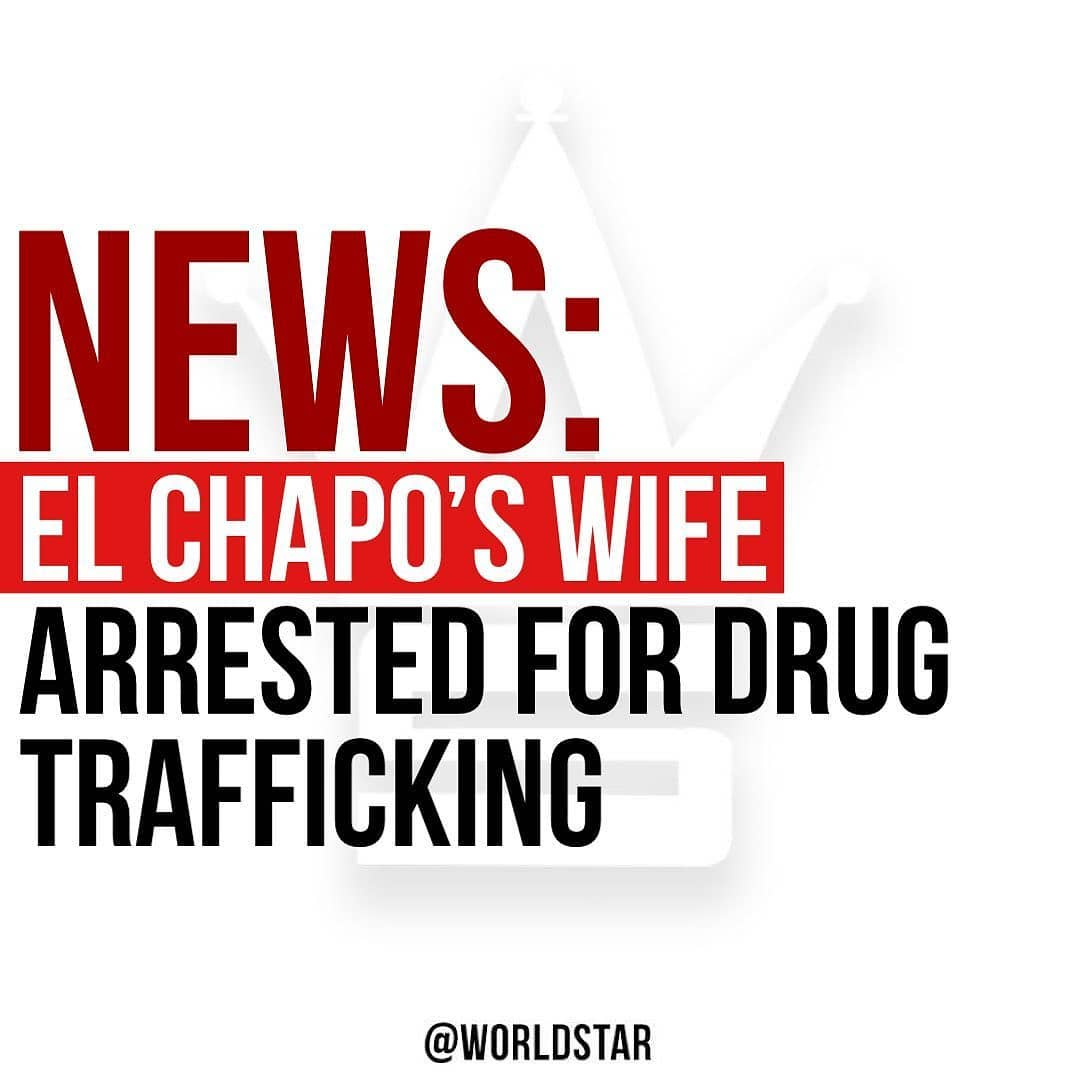 According to reports, El Chapo's wife, Emma Coronel Aispuro, was arrested at Dulles International Airport in Washington DC earlier today on drug trafficking charges. Aispuro is being charged for conspiring to distribute cocaine, methamphetamine, marijuana and heroin for importation in the United States. Sources also say that she is facing conspiracy charges in the aid of her husbands escape from prison in Mexico back in 2015, as well as his attempted escape after recapture.