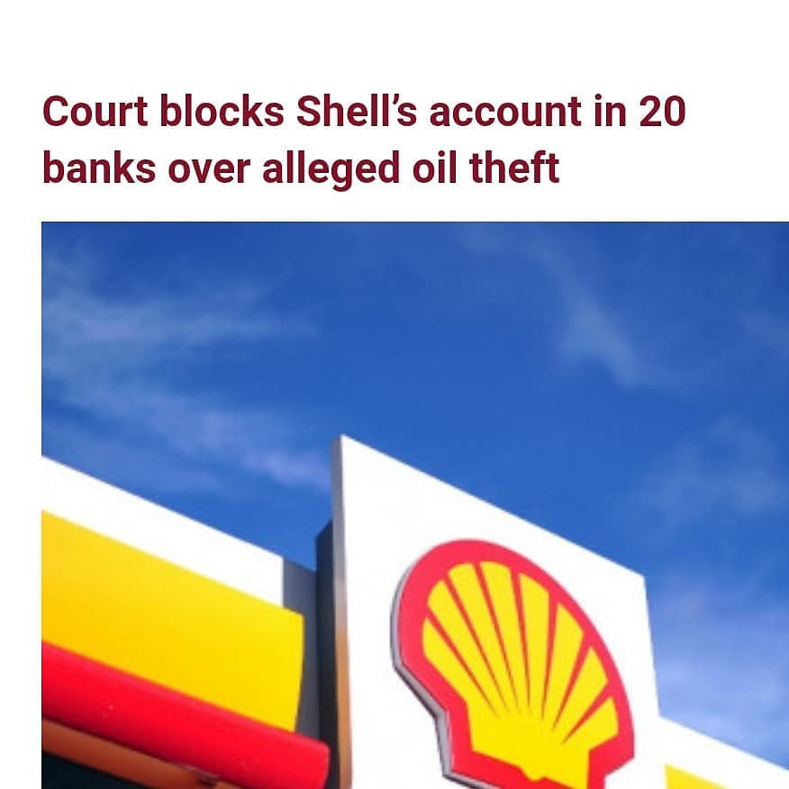 """An interim mareva injunction directing commercial banks to block Shell Petroleum Development Company of Nigeria Ltd accounts, has been granted by a Federal High Court in Lagos.   The order which was granted to recover the cash value of 16 million barrels of crude oil allegedly diverted from AITEO Eastern E & P Company Limited, came after AITEO Eastern E & P Company Ltd filed an ex parte application.   After AITEO and some other indigenous oil producers including Belemaoil, Eroton and Newcross had raised a dispute with Shell over allegations of unapproved methodology used in calculating the volume of crude it lifts on their behalf from the terminal, the oil giant admitted that it had installed unapproved metering systems and agreed to refund more than two million barrels of crude it had illegally taken from the producers between 2016 and 2018 following an investigation by the Department of Petroleum Resources (DPR).   This led to filing of an ex parte application in suit no FHC/L/CS/52/202 to the trial judge, Justice Oluremi Oguntoyinbo.   While SPDC Ltd is the first defendant, Royal Dutch Shell Plc, Shell Western Supply and Trading Ltd, Shell International Trading and Shipping Company Ltd and Shell Nigeria Exploration and Production Company Ltd are the second, third, fourth and fifth defendants.  The respondents are the 20 banks where the Shell companies operate accounts in Nigeria.  The judge directed the 20 banks to """"ring-fence any cash, bonds, deposits, all forms of negotiable instruments to the value of $2.7 billion and pay all standing credits to the Shell companies up to the value into an interest yielding account in the name of the Chief Registrar of the court.""""  The Court Registrar is to """"hold the funds in trust"""" pending the hearing of the motion and determination of the motion on notice for interlocutory injunction filed before it by AITEO.  The court restrained the defendants or their agents from presenting to the banks """"any mandate or instrument for the w"""