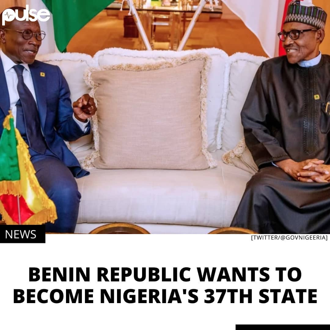 """Benin Republic has always wanted to be a part of Nigeria. . Nigeria may have its own endemic structural and leadership problems, but Benin Republic has been casting envious glances across the border and wouldn't mind being a part of Nigeria's bigger economy. . """"The President of Benin said as far as they are concerned, they want (not just saying it like that) but in reality, Benin should be the 37th state of Nigeria,"""" says Nigeria's Minister of Foreign Affairs, Geoffrey Onyeama. ."""