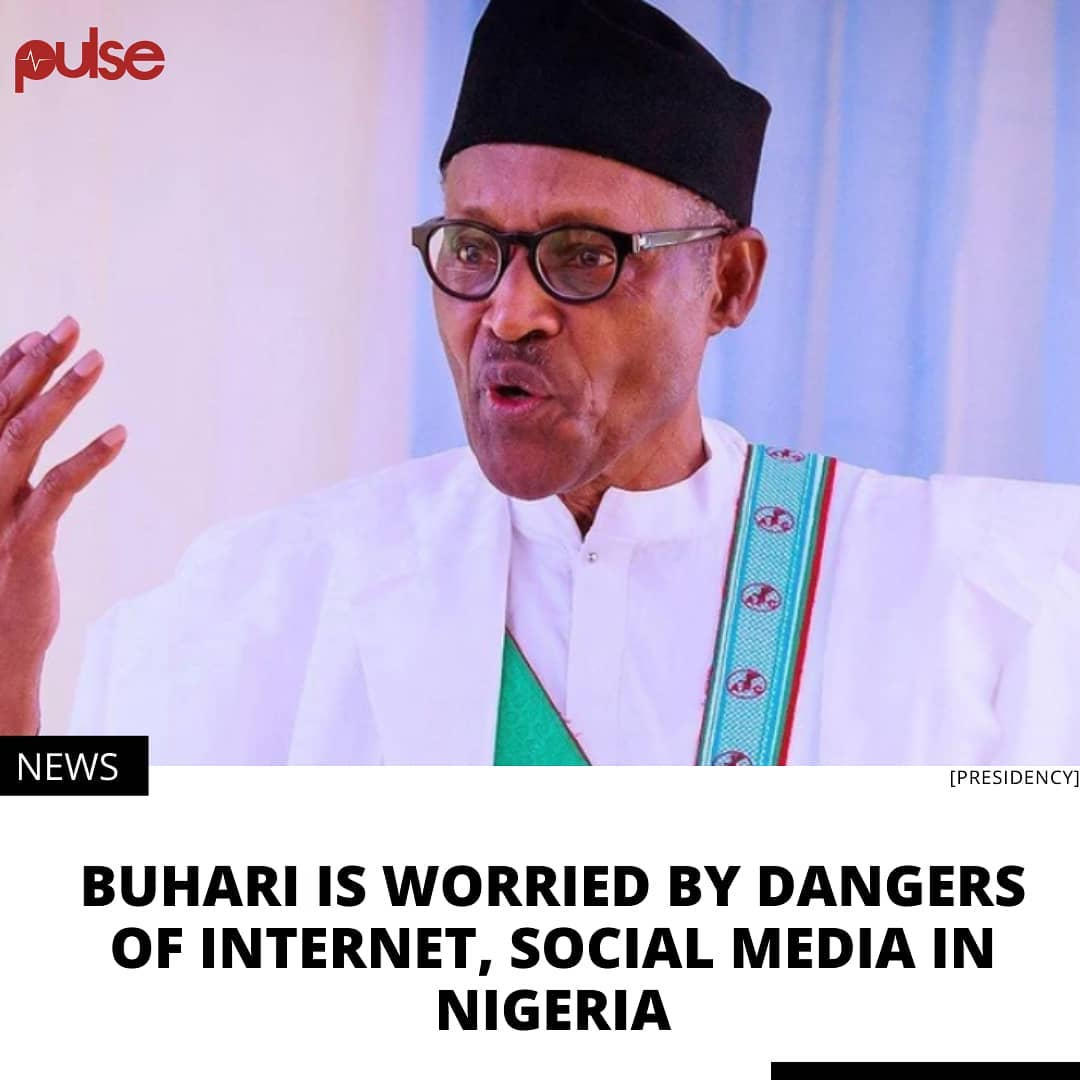 Buhari wants internet to be used for economic growth opportunities, and enhancement of knowledge.⁣ .⁣ President Muhammadu Buhari says the growth and development offered by the internet space is tempered by the threats it also poses to national security.⁣ .⁣ The president called for an overhaul of the national strategy on cyber security when he launched the National Cybersecurity Policy and Strategy (NCPS) 2021 on Tuesday, February 23.⁣ .⁣ Media