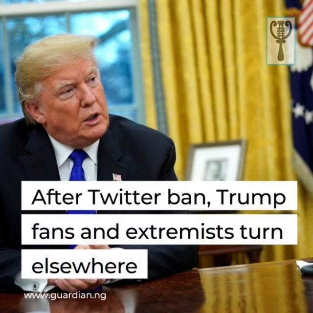 """Gab instead of Twitter, MeWe over Facebook, Telegram for messaging, and Discord for insiders — banned from mainstream platforms, US conspiracy and supremacist movements, many of which support Donald Trump, have shifted to networks that are more confidential, and harder to regulate.  """"The most extreme Trump supporters were already on alternative platforms,"""" said Nick Backovic, a researcher at Logically.AI, a company specializing in digital disinformation.  """"The fact that Facebook and Twitter took so long to (ban them) allowed influencers to rebuild conversation and groups almost seamlessly.""""  After the deadly January 6 attack in Washington, when hundreds of Trump supporters stormed the US Capitol, the major social networks took action against the organizations involved, such as the Oath Keepers, Three Percenters, and Proud Boys.  Facebook stepped up its purges of accounts linked to armed movements — nearly 900 accounts in total were shut down. Twitter has permanently banned Trump and shuttered 70,000 accounts affiliated with QAnon, a conspiracy theory that claims the former president is engaged in a battle against a global cult of elite Satan-worshipping pedophiles.  """"Deplatforming works,"""" said Jim Steyer, president of the organization Common Sense Media. """"Now that you look at Trump not being on Twitter, he lost his big speaker, his amplification microphone to the world."""" """