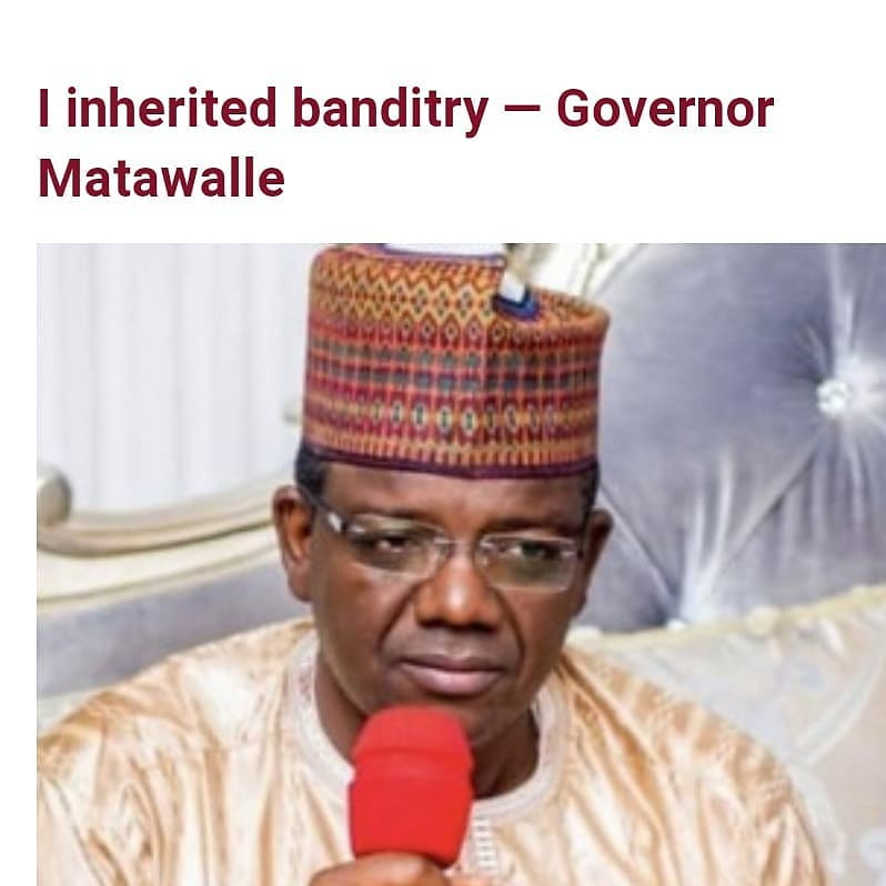 """Governor Bello Matawalle has stated that the issue of banditry was one of the challenges he inherited as Governor of Zamfara state.   The Governor who met with President Buhari yesterday February 17 to discuss the security situation in his state, said there is peace in Zamfara after he initiated dialogue with bandits.   Matawalle also disclosed that most of the people responsible for the criminality in Zamfara are not from the state.  He said """"I was called by Mr President and I am here to brief him on some issues pertaining to security in my state.   """"We discussed much about them and I briefed him. All the supports needed from him, he assigned all where to get all the supports. I appreciate his effort for making me proud of what he has been doing for the state.  """"In terms of security, particularly in Nigeria, everybody knows what is happening today. But in Zamfara, we thank Allah for giving us that achievement because even today, about 358 special police forces were deployed to the state to tackle some challenges.  """"We are on course and I believe that you have heard about it because before, Zamfara was almost in a flashpoint and bad reportage of kidnappings, killings and so on. But today in Zamfara, we are witnessing little peace in the state. We thank Allah for that.  """"Banditry is something I inherited. It was ongoing for almost eight years in the state but due to my initiative of dialoguing with them, now Zamfara is very calm.  """"Among them, there is somebody from Yobe state, two people are from Kaduna, two people from Niger state. It is a gang of some criminals. They normally invite their friends to participate in those activities.""""  On steps he is taking to ensure there is peace in Zamfara state, Matawalle said;   """"I am constructing RUGA for them, like a settlement that can contain some of them because sincerely speaking, if we allow them going round from one place to another, we cannot find a solution to this issue."""""""