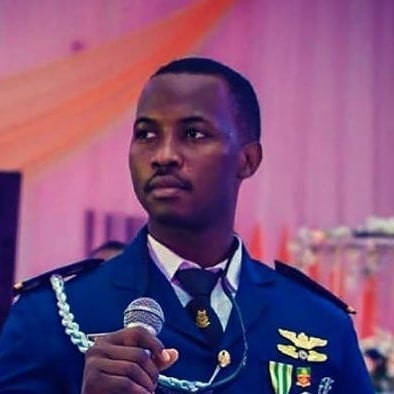 Photo of the pilot who flew the ill-fated Nigerian Air Force aircraft that crashed in Abuja  Flt. Lt. Haruna Gazman has been identified as the pilot of the Nigerian Air Force Beechcraft KingAir B350i aircraft that crashed close to the Nnamdi Azikiwe International Airport, Abuja today February 21.   All seven personnel on board the aircraft died in the crash. The aircraft en route to Minna in Niger State crashed close to the runway of the airport after reporting engine failure.