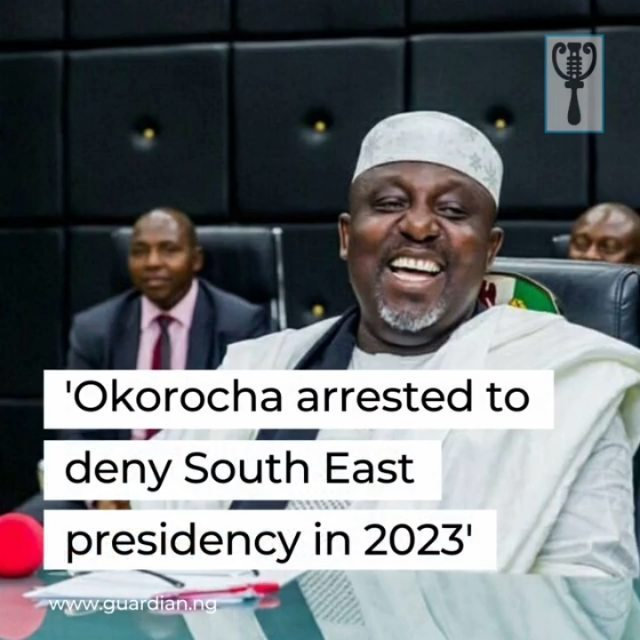 "Pro-democracy groups yesterday held a peaceful protest in Abuja against the arrest of the former governor of Imo State, Rochas Okorocha.⁣ ⁣ Okorocha, who governed Imo for eight years, represents Imo West (Orlu) in the senate. He was arrested yesterday and detained by the police for alleged ""violent entry"" into sealed government property.⁣ ⁣ The protesters described the senator's arrest as a witch-hunt by Governor Hope Uzodimma.⁣ ⁣ Some of the inscriptions on the protesters' placards read: ""United we stand, divided we fall"", ""Government Uzodimma stop the witch-hunt, APC means peace, restore peace in Imo APC"", ""Rochas we believe, leaders must be respected"", ""Rochas is a leader, stop the use of thugs"", ""Nigerian students condemn the attacks on the person of Rochas.""⁣ ⁣ The protesters, who brandished various placards to register their anger over the development, claimed that Okorocha's arrest, allegedly at the instance of Uzodimma, was part of the grand design to deny the South-East geo-political zone the exalted seat of the presidency in 2023.⁣ ⁣ Hamza Rahama, who spoke on behalf of the protesting youths, argued that Okorocha's arrest by armed policemen constitutes a threat to democratic rule in the country.⁣ ⁣ ""Okorocha is one good material, if not the best, we have for 2023 after President Muhammadu Buhari. All this harassment and intimidation is because of the next election of which they believe, should he vie for the Presidency then, he remains a threat to them.⁣ ⁣ ""Nigerians, especially the common man, will resist all sorts of intimidation to truncate Okorocha's presidential ambition because of their strong belief in his capacity to change their fortunes beyond the lines of tribe and religion.""⁣ ⁣"
