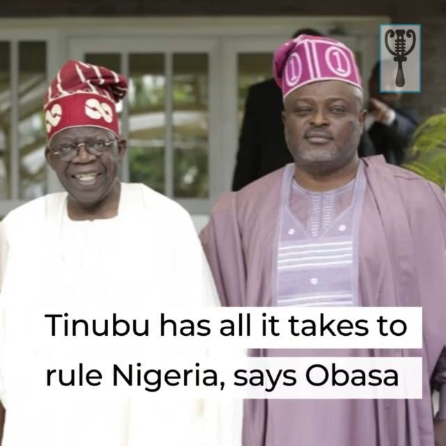 """Speaker of Lagos State House of Assembly, Mudashiru Obasa, has said that anyone who succeeds in meeting expectation as governor of the state is sure of having what it takes to rule Nigeria successfully.  Obasa, who currently champions the mobilisation of the South-West and other parts of the country in support of the National Leader of the All Progressives Congress (APC), Bola Ahmed Tinubu, spoke in Badagry, yesterday, when he commissioned a block of six classrooms built at the Ajara Comprehensive Senior High School by Setonji David, a lawmaker representing Badagry Constituency II at the State Assembly.  """"Let us support our own and be vocal with it. Let us support Tinubu. We will continue to support our leader and we must continue to support our governor, Babajide Sanwo-Olu because we have no doubt that he will continue to deliver.""""  The Speaker also urged government at all levels to consider prioritising education in the country, saying: """"Any nation that has the hope of overcoming its challenges and competing at the international level must take the issue of education seriously.  """"We should learn from this and contribute to educational development no matter how little. Let us support our representative.""""  He commended members of the House of Assembly and stressed the need to allow lawmakers serve and gain more experience on the job.  """"All the lawmakers in the Lagos State House of Assembly are good representatives. Sending them back as representatives is an advantage.  """"This is my fifth term in the Assembly, and I became a Speaker in the fourth term. I want you to continue to support the people representing Badagry in the Assembly,"""" he further said.  """