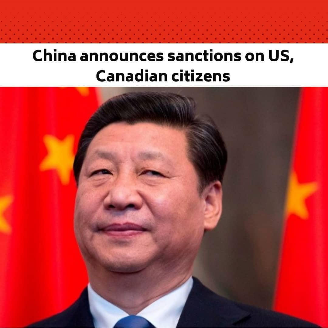 """China announced tit-for-tat sanctions against two Americans, a Canadian and a rights advocacy body late Saturday, in response to sanctions imposed earlier this week by the two countries over Beijing's treatment of Uyghurs. .  Two members of the US Commission on International Religious Freedom, Gayle Manchin and Tony Perkins, as well as Canadian MP Michael Chong, and a Canadian parliamentary committee on human rights, are prohibited from entering mainland China, Hong Kong and Macau, the Chinese foreign ministry said. .  At least one million Uyghurs and people from other mostly Muslim groups have been held in camps in northwestern Xinjiang, according to rights groups, who accuse authorities of forcibly sterilizing women and imposing forced labour. .  The European Union, Britain, Canada and the United States sanctioned several members of Xinjiang's political and economic hierarchy this week in coordinated action over the allegations, prompting retaliation from Beijing in the form of sanctions on individuals from the EU and UK. .  China's foreign ministry on Saturday accused the US and Canada of imposing sanctions """"based on rumours and disinformation."""" --"""