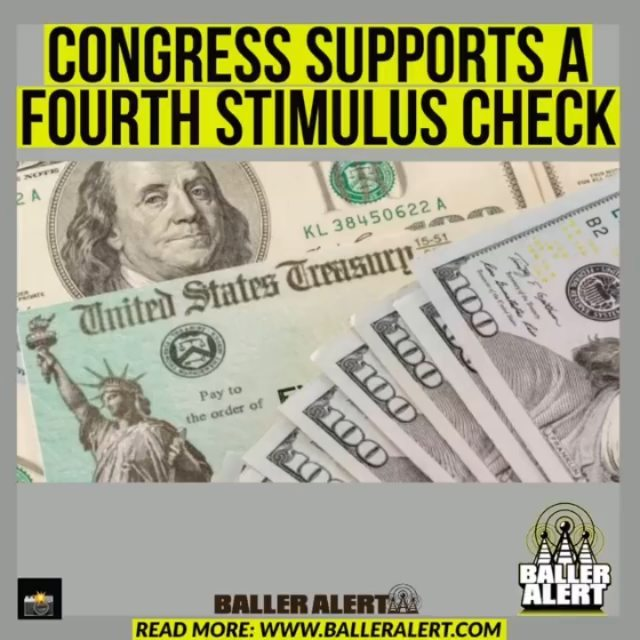 """Congress Supports A Fourth Stimulus Check  A fourth stimulus check could be in our future as the idea gains more support from Congress.  Since the pandemic started, Americans have only been given three COVID-19 relief payments as millions have been unemployed. Many Americans received their third check officially on March 17, but several have been pushing for not only a fourth check but recurring checks until the pandemic has, for the most part, subsided.  According to Newsweek, 64 lawmakers are urging for a fourth stimulus check with recurring checks to follow after. Earlier this month, 11 Senators, including and #ElizabethWarren, called for to extend unemployment indefinitely on top of the signing off on more checks.  """"We urge you to include recurring direct payments and automatic unemployment insurance extensions tied to economic conditions in your Build Back Better long-term economic plan,"""" the senators wrote to the president, Newsweek reports. """"This crisis is far from over, and families deserve certainty that they can put food on the table and keep a roof over their heads.""""  """"Families should not be at the mercy of constantly-shifting legislative timelines and ad hoc solutions,"""" Sanders continued. Senators said the checks would """"help keep families out of poverty, but they act as economic stimulus by increasing spending and supporting jobs."""" They added that when the two $600 payments were distributed, they were spent quickly, and """"poverty rose."""" Economic experts and """"65 percent of Americans"""" in a poll stated they support recurring payments."""