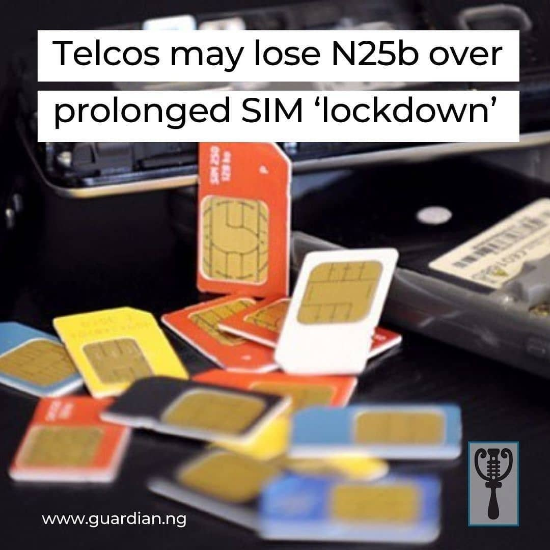 """If the court order demanding two months extension of NIN-SIM registration stays, it would have been five months of no SIM registration and activation in the country.  The implications of this are that mobile network operators (MNOs) would have lost about ₦25 billion to the process as a result of inactive SIM cards, which would have increased by 9.6 million, at an average of 3.2 million lines per month, aside from those previously lost.  Checks by The Guardian revealed that between December 2020 (when the Federal Government gave the directive stopping operators from activating both new and old SIM cards that require re-activation) and February, while relying on the statistics from the Nigerian Communications Commission (NCC), about 7.6 million lines had become inactive, which had resulted in the loss of about N10.8 billion, going by the industry Average Revenue Per User (ARPU) of ₦1,420.  Recall that between December 15, 2020, and January, telcos lost 3.3 million lines. Within that period and February, the number rose to 4.3 million.  The inability of subscribers to reactivate their lost SIMs and activate new ones is not sitting well with them, as more customers have continued to lament this challenge.  Speaking with The Guardian, a subscriber, Joke Aliu, said she lost her phone having two SIM cards on December 30. """"Those two lines are majorly for businesses, till now I have not been able to reactivate them. Thank God I have one other line, which is what I have been using, almost three months now."""" """