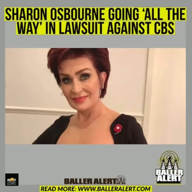 """Sharon Osbourne Going 'All The Way' In Lawsuit Against CBS  plans to file a lawsuit against CBS after being forced to leave The Talk over her defense of her friend  The Daily Mail reported Sunday that Osbourne plans to take the network """"all the way"""" for damages due to her exit. She will also be seeking compensation for the remaining two years of her contract, estimated to be almost $3 million.  The British talk show personality has been a host of the show since it debuted in 2010. Up until she left, she was the only original cast member on the show.   Osbourne received a ton of backlash over her defense of Morgan's racially insensitive comments following Meghan Markle and Prince Harry's interview with Oprah Winfrey. The talk show host then exchanged heated words with co-host Sheryl Underwood on the show over Morgan's behavior. The show was placed on hiatus following the argument.  Osbourne was then accused by former co-host Holly Robinson Peete of making racially insensitive comments. Robinson Peete claimed she called her """"too ghetto"""" to be on the show. Osbourne denied the accusations.  Former co-hosts Julie Chen and Leah Remini also revealed publicly that Osbourne once referred to Chen as """"a wonton"""" and Remini as """"ghetto."""" Osbourne denied making the comments in an interview with Daily Mail, calling it """"crap."""""""