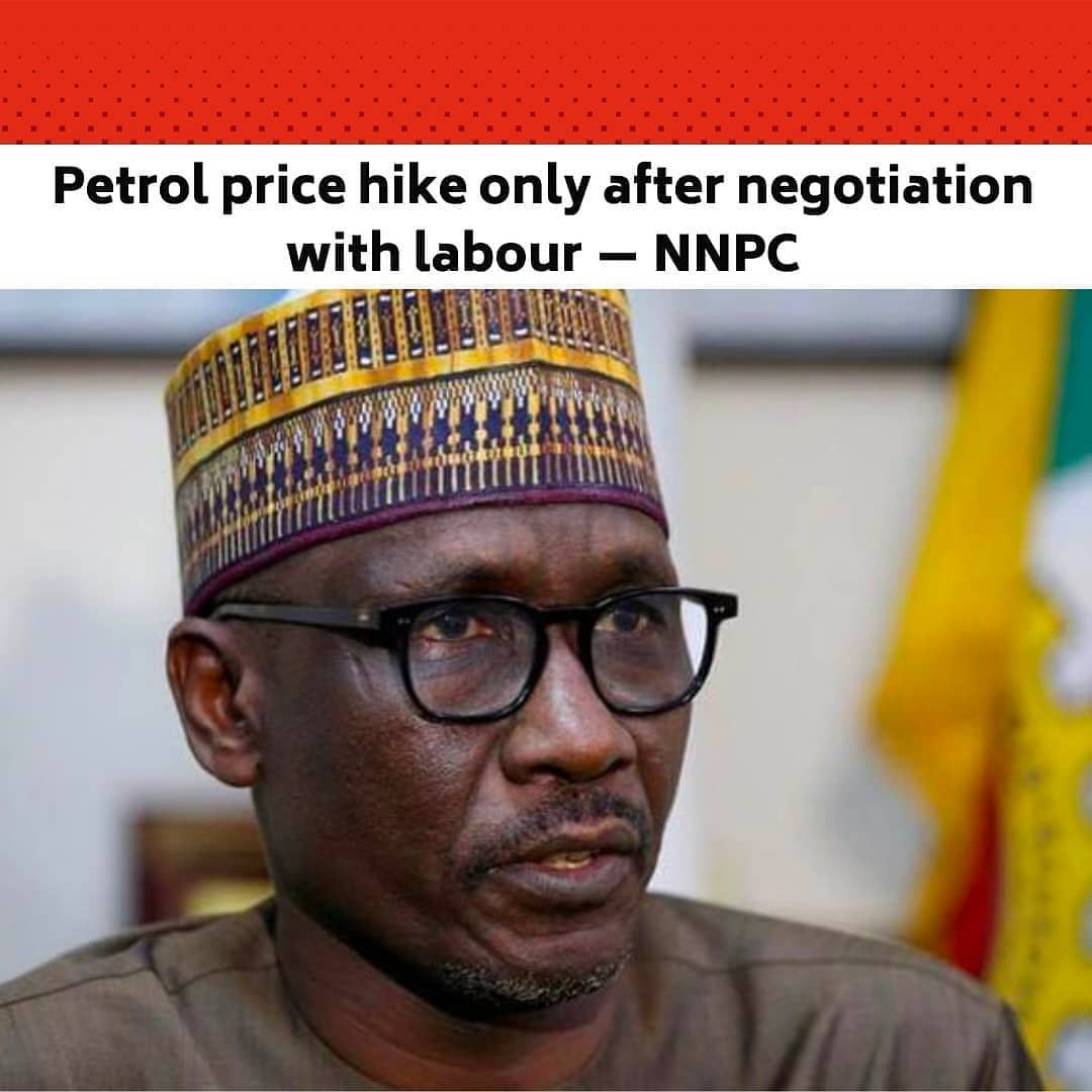 """The Nigerian National Petroleum Corporation on Friday said it would maintain its current ex-depot price of Premium Motor Spirit otherwise called petrol until the conclusion of ongoing engagement with the organised labour and other stakeholders. .  NNPC had maintained an ex-depot price of N148/litre since February despite the hike in the actual cost of the commodity, hence incurring subsidy of about N120bn monthly. .  The corporation's Group General Manager, Group Public Affairs Division, Kennie Obateru, told journalists in Abuja that at the moment, NNPC was bearing the burden of importing refined petroleum products. .  This, he said, was because the oil firm was the supplier of last resort with the task of guaranteeing energy security for the nation. .  Shedding more light on the recent interview by the Group Managing Director, Mele Kyari, at the State House, Obateru said NNPC had no intention to preempt ongoing engagement with labour by unilaterally increasing the ex-depot price of petrol. .  He said this was despite the fact that the corporation was bearing the burden of price differentials between the landing cost and pump price of petrol. .  """"NNPC has made arrangements for robust stock of petroleum products in all its strategic depots across the country to keep the nation well supplied at all times,"""" Obateru said. .  He advised petroleum products marketers not to engage in arbitrary price increase or hoarding of petrol so as not to disrupt the market. .  He also urged motorists not to engage in panic buying, stressing that NNPC was committed to ensuring products availability in Nigeria. .  The NNPC spokesperson assured marketers and all other stakeholders in the downstream sector of the oil firm's sustainable collaboration for the interest of the general public. --"""
