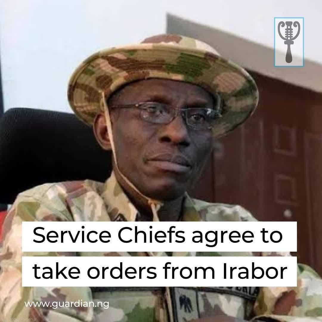 "The Service Chiefs have agreed to subordinate themselves under the Chief of Defence Staff, General Lucky Irabor, in line with universal best practices.⁣ ⁣ The Chief of Air Staff, Air Marshal Oladayo Amao, said Commanders of all ongoing military operations will henceforth report directly to Irabor, as obtained in military organisations across the world.⁣ ⁣ The Service Chiefs' decision may not be unconnected to the frosty relationship that existed between the former Service Chiefs and the erstwhile CDS, Gabriel Olonisakin.⁣ ⁣ In a statement by the Director of Public Relations and Information, Air Commodore Edward Gabkwet, the Service Chiefs took the decision to strengthen efforts to check the country's security challenges.⁣ ⁣ The statement partly read: ""The Chief of Air Staff (CAS), Air Marshal Oladayo Amao has stated that the Nigerian Air Force (NAF) and other sister Services have agreed to subordinate themselves to the Defence Headquarters (DHQ), under the abled leadership of the Chief of Defence Staff (CDS), General Lucky Irabor. ⁣ ⁣ ""According to him, just as it is obtainable in military organisations worldwide, the DHQ is responsible for the command and control of the entire Armed Forces of Nigeria (AFN), which also means that all ongoing joint operations and Joint Task Forces are directly subordinated to the DHQ, and their commanders report directly to the CDS…""⁣ ⁣"
