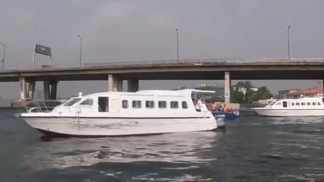 Video ofSuper Eagles players traveling to Porto Novo in three boats ahead ofAFCON qualifiers clash with Benin Republic.  Video has surfaced of the Super Eagles of Nigeria squad travelling to Porto Novo in three white boats ahead of their 2022AFCON qualifiers clash with the Benin Republic on Saturday, March 27.   The squad left Nigeria on Friday morning, March 26, using the country's waterways due to the proximity of both West African countries. They were  escorted by several security officials in smaller boats.