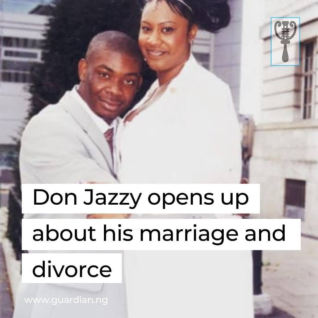 """In a new post on social media, award-winning producer and musician, Don Jazzy, has opened up about his marriage and divorce.  In the post on Instagram, Don Jazzy explains that he was married at the age of 20 and got divorced 2 years after.  He further stated that he has decided to share this part of his life because he feels bad """"skipping this part of his life.""""  This revelation comes after his fans have constantly questioned him about his relationship, which he kept private for a very long time.  Don Jazzy has, however, clarified that he is not ready to marry for now, rather, he is married to his music. In his words:  'I am still very much in love with my music, and I would not want to marry another and fuck it up again. So I am taking my time.'  In a recent interview with Ebuka, he spilled so many information he has not brought up in public.  However, this information about his marriage is one of the most private information to him. His ex-wife also dropped a comment on the post. """